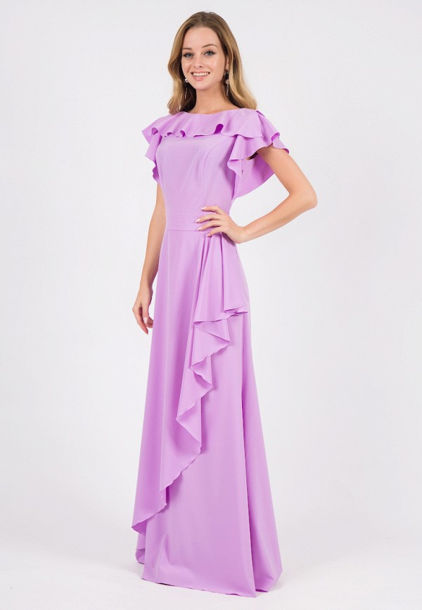 Лиловый Цвет Фото Платья