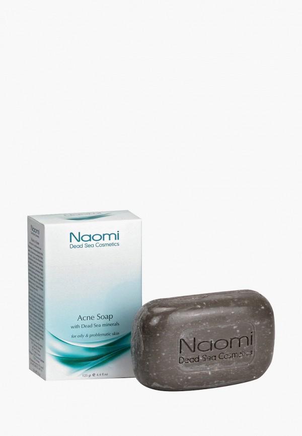 Naomi Dead Sea Cosmetics Мыло для лица против акне, с минералами Мертвого моря «NAOMI», 125 гр