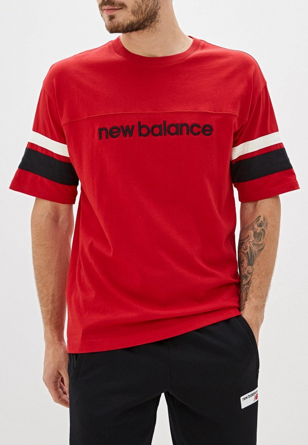 Футболка New Balance NB ATHLETICS STADIUM SHORT SLEEVE JERSEY