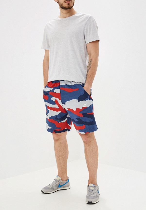 Шорты спортивные Nike SPORTSWEAR CLUB MEN'S FRENCH TERRY CAMO SHORTS