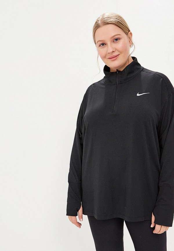 Лонгслив спортивный Nike ELEMENT WOMEN'S LONG-SLEEVE RUNNING TOP (PLUS)