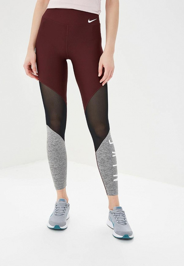 Тайтсы Nike Power Women's Mid-Rise Mesh Training Tights