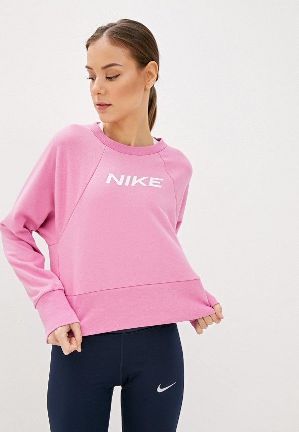 Nike Свитшот W NK DRY GET FIT FC CW CP EL G