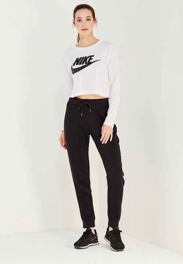 Лонгслив Nike W NSW ESSNTL TOP LS CROP HBR
