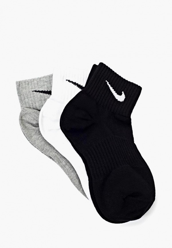 Комплект Nike Unisex Perfect Lightweight Quarter Training Sock (3 Pair)