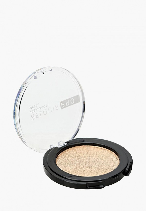 "Тени для век Relouis "" PRO EYESHADOW METAL"" тон 53 ,OH MY GOLD!"