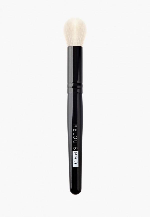Relouis Кисть для лица косметическая малая мультифункциональная PRO Multifunctional Brush S