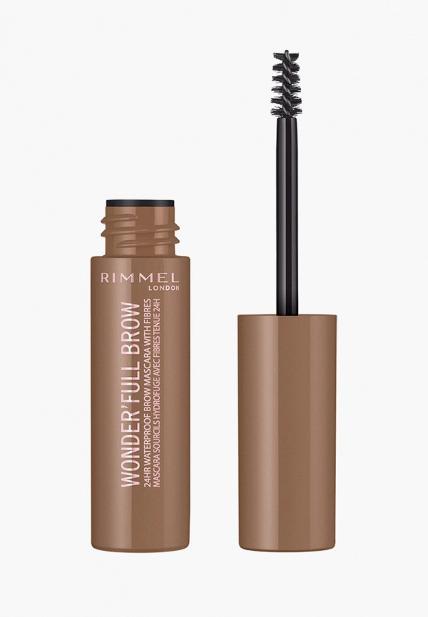 Тушь для бровей Rimmel Wonder`Full, тон 001 Brow, 1 мл.