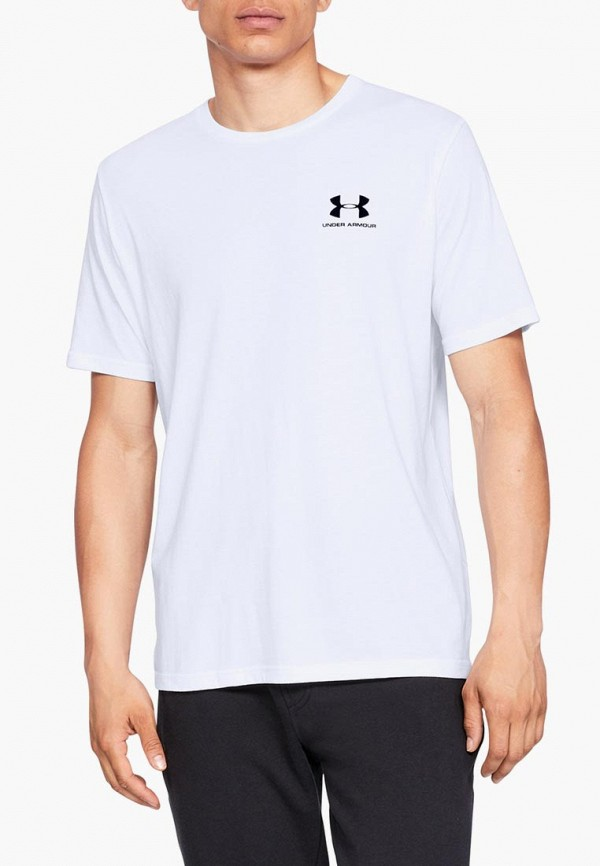 Футболка спортивная Under Armour SPORTSTYLE LEFT CHEST SS