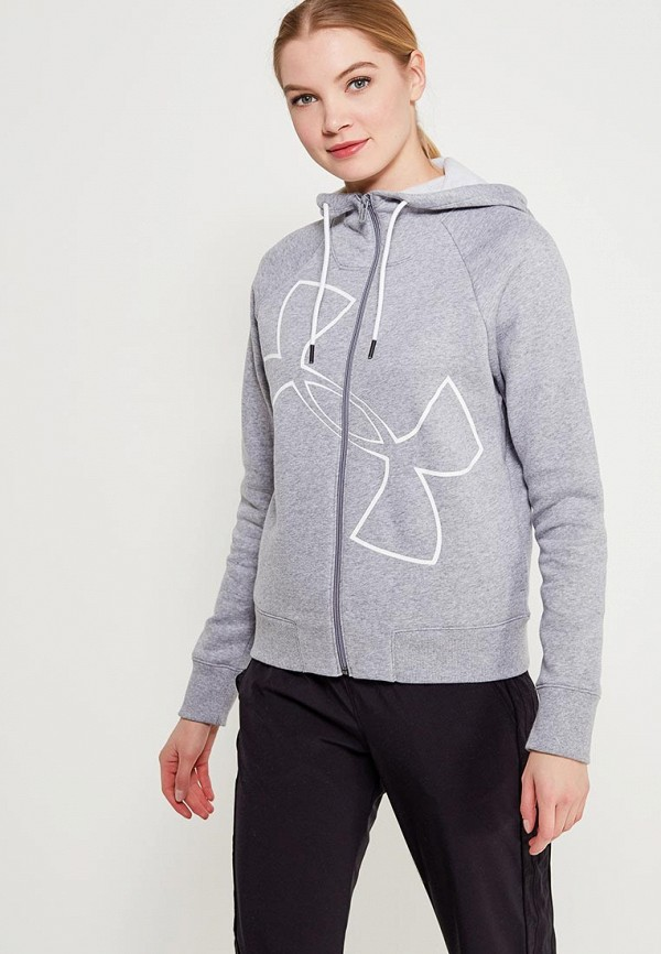 Толстовка Under Armour Big Logo WM FZ Hoodie