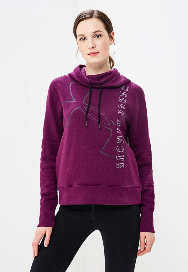 Худи Under Armour Big Logo WM Cotton Hoodie