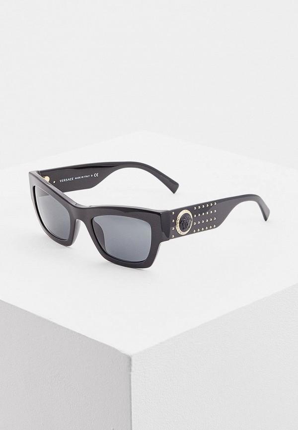 Очки солнцезащитные Versace VE4358 529587 за 24 700 ₽. в интернет-магазине Lamoda.ru