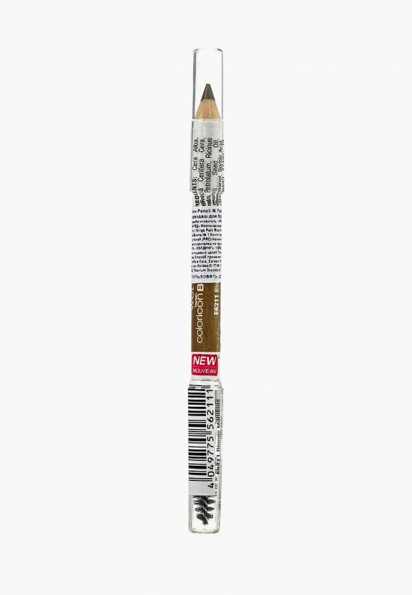 Карандаш для бровей Wet n Wild Color Icon Brow Pencil, e6211 blonde moments