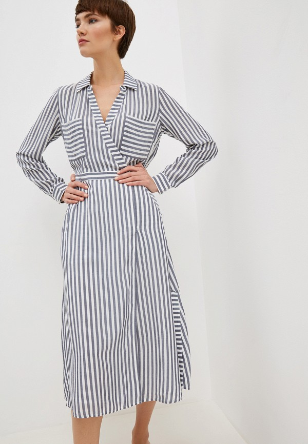 official top-rated newest amazing selection Whistles Платье Stripe Wrap Shirt Dress