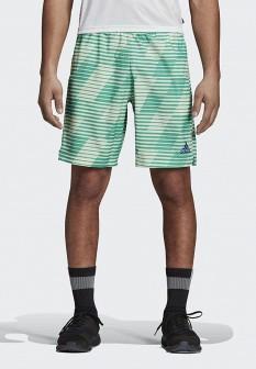 Мужские зеленые спортивные шорты