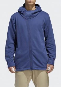 Мужская синяя толстовка Adidas