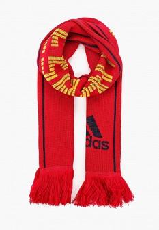 Женский красный немецкий осенний шарф