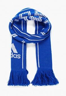 Женский синий немецкий осенний шарф