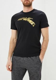 Мужская черная футболка ANTA