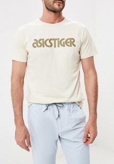 Мужская бежевая футболка ASICSTiger