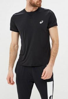 Мужская черная спортивная футболка