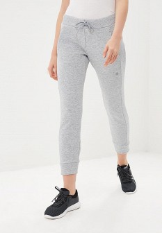 Женские серые брюки спорт Asics