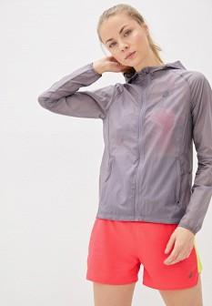 Женская фиолетовая ветровка на осень