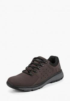 Мужские коричневые осенние трекинговые ботинки из нубука