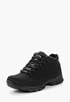 Мужские черные кожаные трекинговые ботинки из нубука