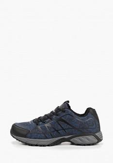 Мужские синие осенние трекинговые ботинки