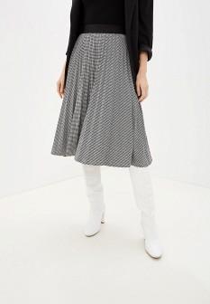 Серая осенняя юбка Baon