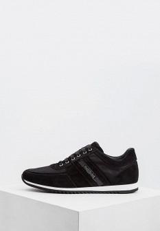 Мужские черные итальянские кроссовки
