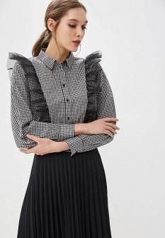Серая блузка Befree