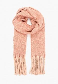 Женский осенний коралловый шарф