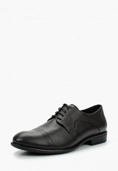 Мужские коричневые кожаные туфли