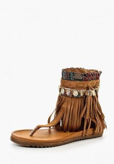 Женские коричневые сандалии Bellamica