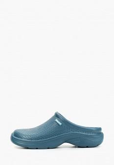 Мужские голубые осенние сандалии