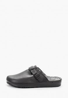 Мужские черные осенние сандалии