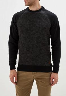 Мужской черный осенний свитер