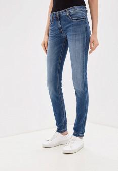 Женские голубые итальянские осенние джинсы regular