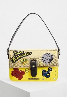 Женская кожаная сумка Braccialini