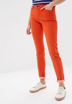 Женские красные осенние брюки