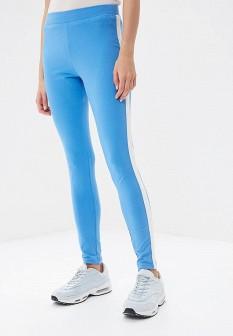 Женские голубые осенние спортивные брюки