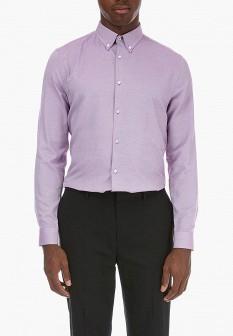 Мужская фиолетовая осенняя рубашка