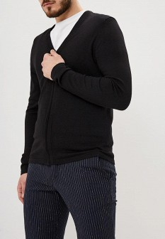 Мужской черный кардиган Burton Menswear London