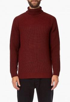 Мужской бордовый свитер Burton Menswear London