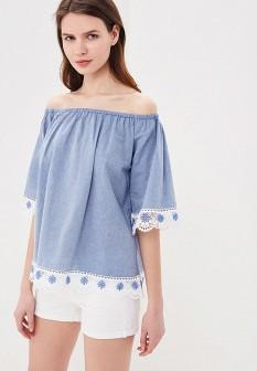 Голубая блузка By Swan