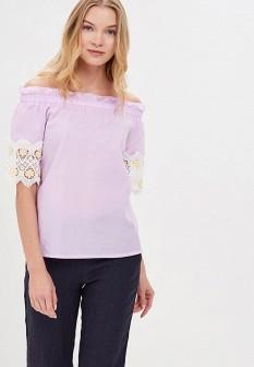 Фиолетовая блузка By Swan