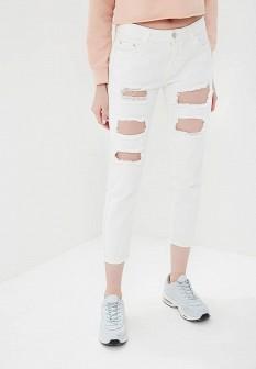 Женские белые джинсы By Swan