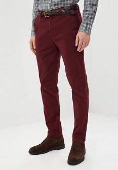 Мужские бордовые осенние брюки